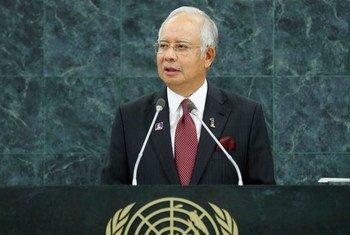 Dato' Sri Mohd Najib Bin Tun Haji Abdul Razak, Prime Minister of Malaysia.