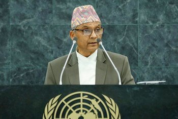 Khil Raj Regmi, Chairman of the Council of Ministers of the Federal Democratic Republic of Nepal.