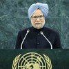 Manmohan Singh, Prime Minister of the Republic of India.