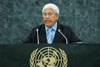 Vete Sakaio, Deputy Prime Minister of Tuvalu.