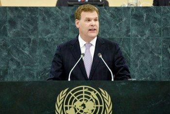 Le Ministre des Affaires étrangères du Canada, John Baird.