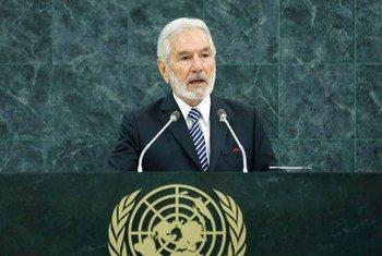 El ministro de Exteriores de Nicaragua, Samuel Santos López,  Foto archivo: Evan Schneider