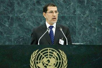 Le Ministre des affaires étrangères et de la coopération du Maroc, Saad Dine El-Otmani.