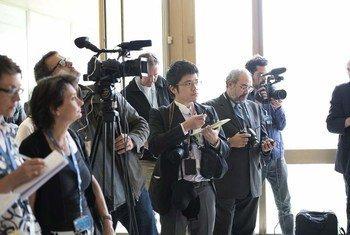 La UNESCO defiende la labor de los periodistas. Foto: Jean-Marc Ferré