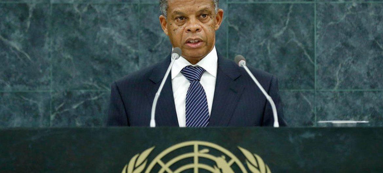 Carlos Filomeno Agostinho Das Neves, Permanent Representative of São Tomé and Príncipe.