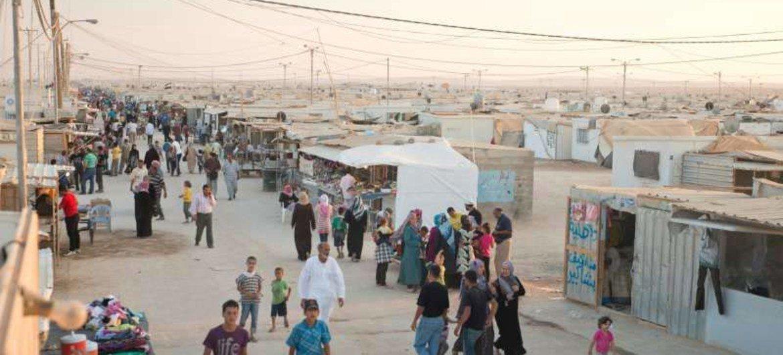 Campo de refugiados de Za´atari, Jordania