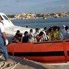 Rescate de sobrevivientes en Lampedusa (Foto:AMSA-ACNUR)