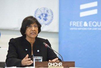 La Alta Comisionada de la ONU para los Derechos Humanos, Navi Pillay  Foto: