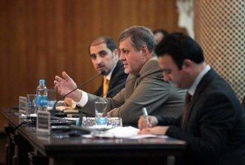 Le Représentant de l'ONU en Afghanistan, Jan Kubis.