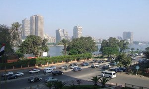 Le Caire, en Égypte.