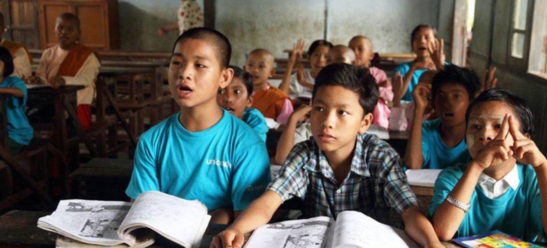 Violence in Myanmar's Rakhine state must end for sake of children – UNICEF  | | UN News