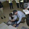 Inspectores de la OPAQ en La Haya (Foto: OPAQ)