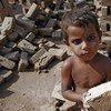 Trabajo infantil en Pakistán.