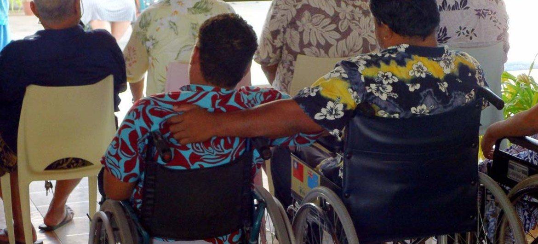 Según la OMS, alrededor de un 15% de la población mundial vive con alguna forma de discapacidad. Foto: UNISDR