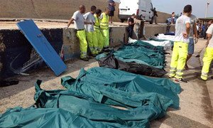 The death toll from the tragedy off Lampedusa stands at over 300, but searchers fear there may still be more.
