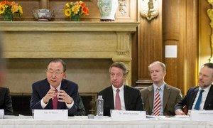 Secretary-General Ban Ki-moon addresses meeting of the International Development Finance Club (IFDC) in Washington, D.C.