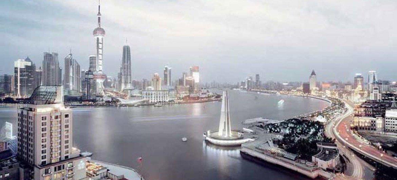 China podría verse superada como el país más poblado del mundo en 2022 por India, según cálculos de la ONU. Foto: Ciudad de Shanghai