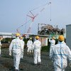 IAEA International Remediation Expert Mission examines Reactor Unit 3 during a visit to TEPCO's Fukushima Daiichi Nuclear Power plant.