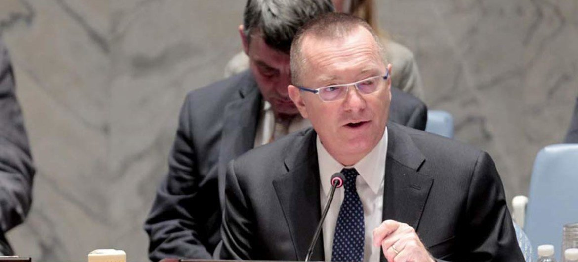 Under-Secretary-General for Political Affairs Jeffrey Feltman briefs the Security Council on the situation in the Middle East, including the Palestinian question.