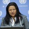 La Rapporteuse spéciale sur la situation des droits de l'homme en Érythrée, Sheila B. Keetharuth (archives). Photo ONU/Amanda Voisard