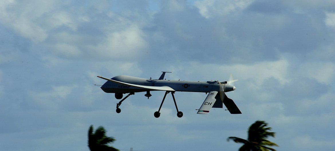 UN Rights Experts Call For Transparency In The Use Of Armed Drones