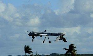 A US Air Force RQ-1 Predator unmanned aerial vehicle.