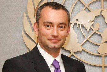 Le Représentant spécial du Secrétaire général pour l'Iraq, Nickolay Mladenov.