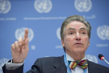 Independent Expert on the promotion of a democratic and equitable international order Alfred De Zayas.