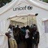 منطقة آمنة خصصتها اليونسيف للأطفال في مدينة بوسانجو ضمن مجهوداتها من أجل تحسين حياة السكان الأكثر ضعفا - جمهورية أفريقيا الوسطى