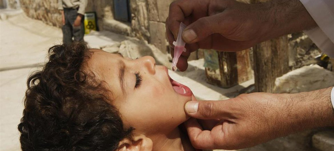 Urgent action needed to protect children against polio in syria unicef unicef has joined the world health organization publicscrutiny Gallery
