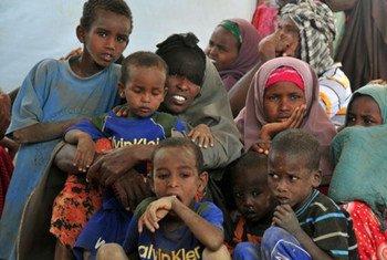Niños somalíes refugiados en Kenia