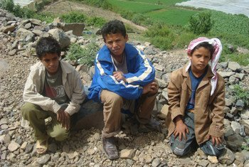 Children in Dammaj village, northern Yemen, are cut off from food and healthcare.