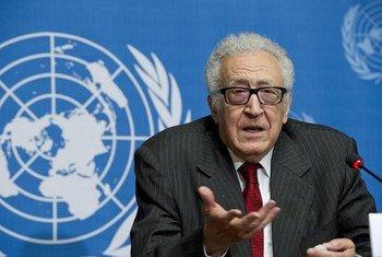 El representante conjunto de la ONU y la Liga Árabe para Siria, Lakhdar Brahimi  Foto:Violaine Martin