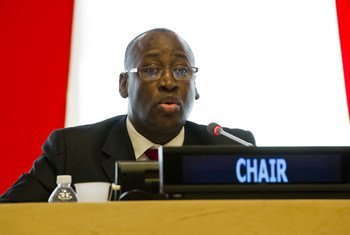 Chair of the Second Committee Abdou Salam Diallo.