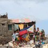 Super Typhoon Haiyan ripped through the Philippines causing widespread damage.