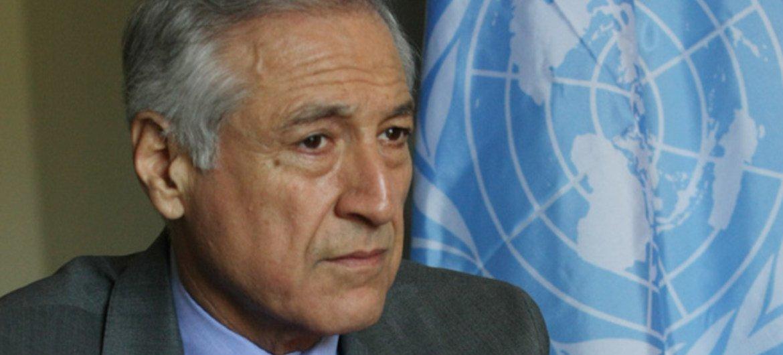 El canciller chileno, Heraldo Muñoz, en la sede de Naciones Unidas. Foto de archivo: ONU