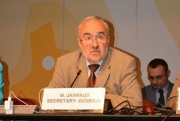 Secretario General saliente de la OMM, Michel Jarraud. Foto: OMM