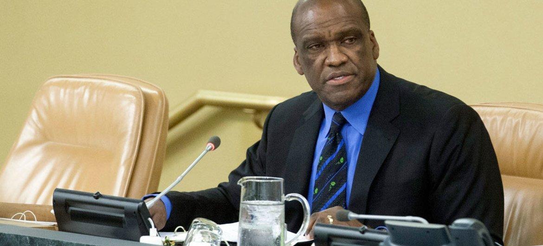 General Assembly President John Ashe.