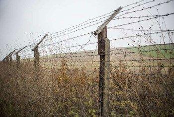 位于保加利亚与土耳其之间的国界 联合国难民署图片/G.Kotschy