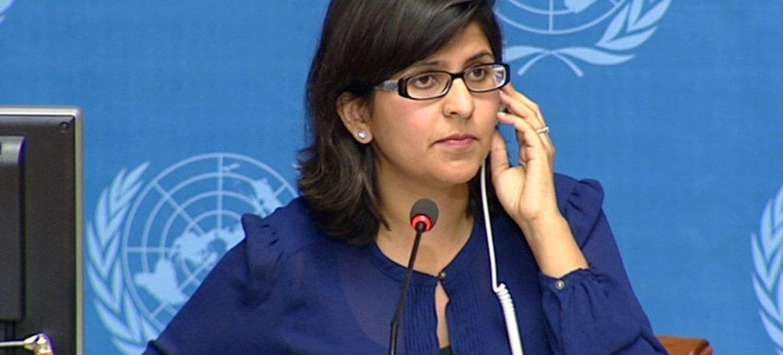 رافينا شامداساني المتحدثة باسم مكتب الأمم المتحدة لحقوق الإنسان.