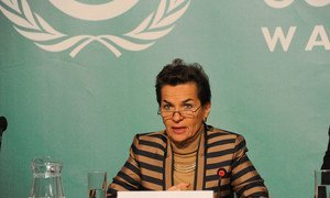 UN Framework Convention on Climate Change (UNFCCC) Executive Secretary Christiana Figueres.
