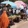 Una calle en Beledweyne, Somalia  Foto:  AU-UN IST/ Ilyas A. Abukar.