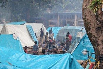 Desplazados en la República Centroafricana (Foto: IRIN-Hannah McNeish)