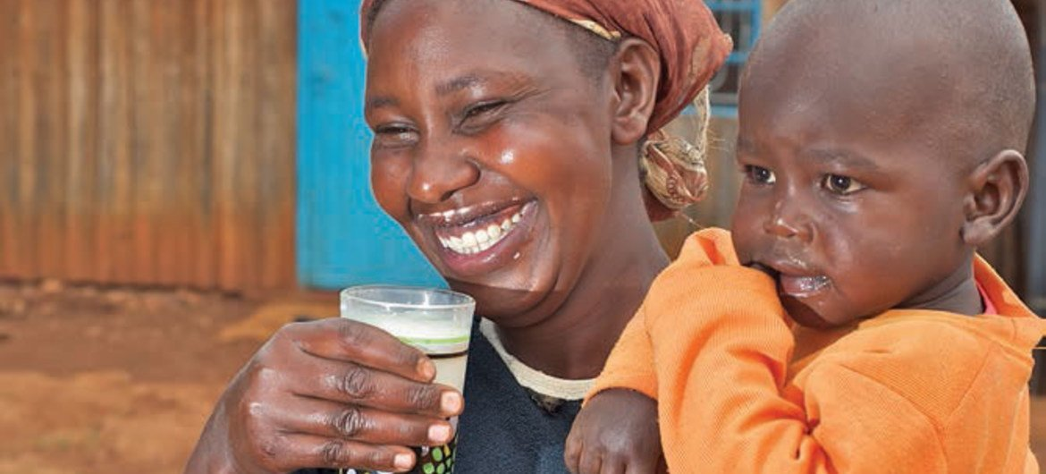 Milk and dairy hold potential for improving nutrition of world's poor.