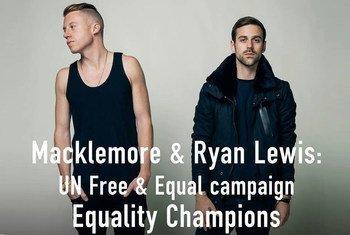 Hip-hop duo Macklemore and Ryan Lewis.