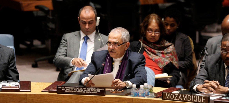 José Ramos-Horta, Représentant spécial du Secrétaire général en Guinée-Bissau. Photo ONU/Eskinder Debebe
