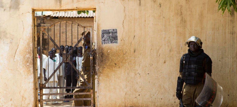 La prison de Torit, au Soudan du Sud, construite en 1946.