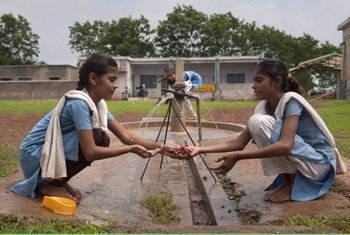 The Government of India is aiming at institutionalising handwashing with soap in schools before Mid Day Meal amongst 110 million children.
