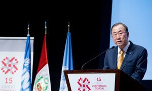 Secretary-General Ban Ki-moon speaks at Opening session of the 15th General Conference of UNIDO-