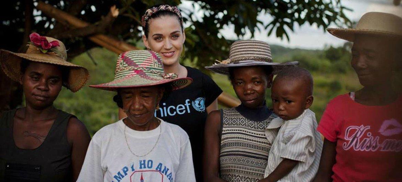 UNICEF nombra a Katy Perry embajadora de Buena Voluntad   Noticias ONU